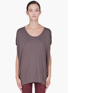 HELMUT LANG • Modal Pima Jersey Tunic T-Shirt • M